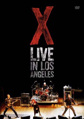 X- Live In Los Angeles DVD (Sale price!)