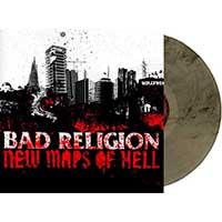 Bad Religion- New Maps Of Hell LP (Ltd Ed Smoke Vinyl)