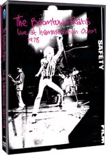 Boomtown Rats- Live At Hammersmith Odeon 1978 DVD (Sale price!)