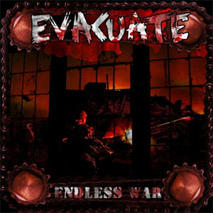 "Evacuate- Endless War 7"" (Virus, Cheap Sex, Lab Rats) (Sale price!)"