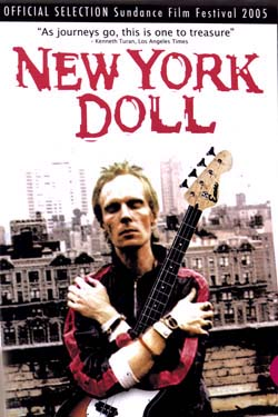 New York Doll DVD (Documentary of Arthur Kane) (Sale price!)