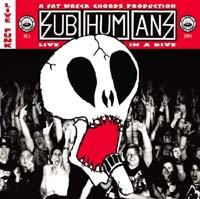 Subhumans- Live In A Dive 2xLP