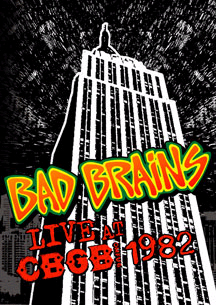 Bad Brains- Live At CBGB 1982 DVD (Sale price!)