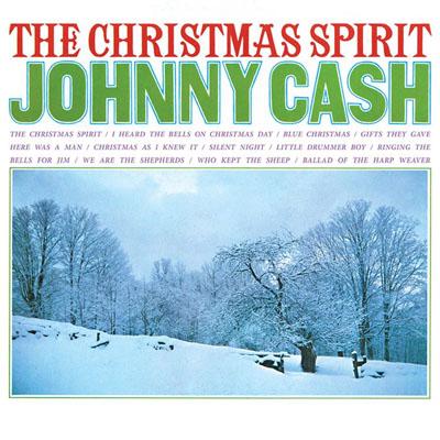 Johnny Cash- The Christmas Spirit LP (180gram White Vinyl)