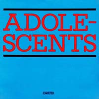Adolescents- S/T LP (Color Vinyl)