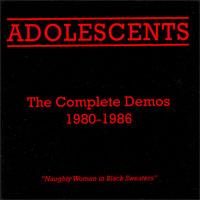 Adolescents- The Complete Demos 1980-1986 LP (Color Vinyl)