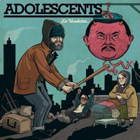 Adolescents- La Vendetta LP (Color Vinyl)