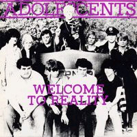 "Adolescents- Welcome To Reality 10"" (Color Vinyl)"