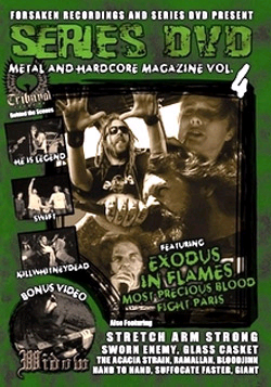 Series DVD, Metal And Hardcore Volume 4 DVD (Sale price!)