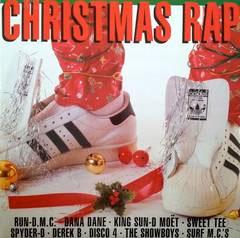V/A- Christmas Rap LP (Color Vinyl)  (Sale price!)