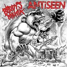 """Antiseen / Brody's Militia- Primal Roar Split (Bear & Hunter Cover) 7"""""""