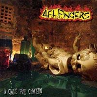 4ft Fingers- A Cause For Concern CD (Sale price!)