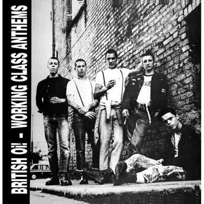 V/A- British Oi! Working Class Anthems LP (Blue Vinyl)