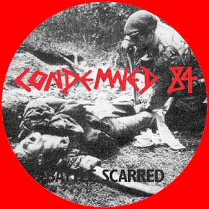 Condemned 84- Battle Scarred Pic Disc LP