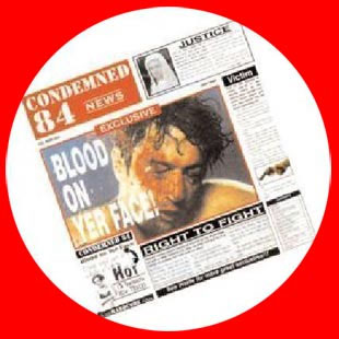 Condemned 84- Blood On Yer Face Pic Disc LP