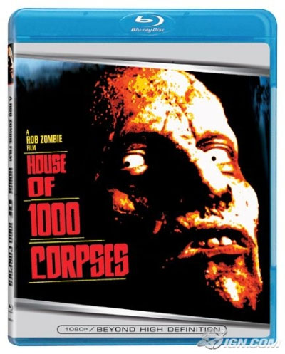 House Of 1,000 Corpses Blu-Ray (Sale price!)