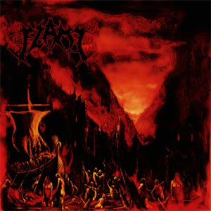 Flame- March Into Firelands LP (Red Vinyl) (Sale price!)