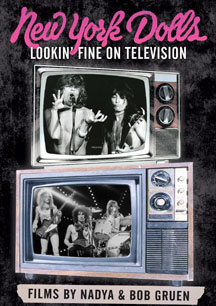 New York Dolls- Lookin' Fine On Television DVD (Sale price!)