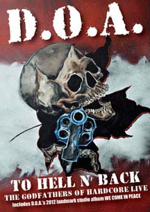 DOA- To Hell And Back DVD (Sale price!)