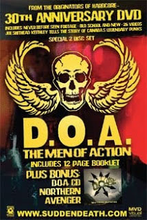 DOA- The Men Of Action, 30th Anniversary DVD & CD 2 Disc Set (Sale price!)