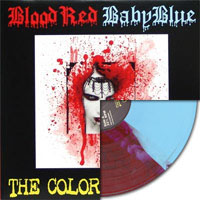 Blood Red Baby Blue- The Colors of Chaos LP