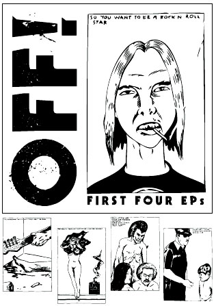 "OFF!- The First Four EP's 4x7"" Box Set"
