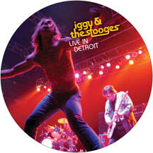 "Iggy & The Stooges- Live In Detroit Pic Disc 11"" & DVD"