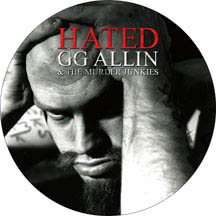 "GG Allin- Hated Pic Disc 11"" & DVD"