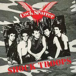 Cock Sparrer- Shock Troops LP (180gram Color  Vinyl)