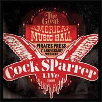 Cock Sparrer- Back In San Francisco 2009 2xLP & DVD (180gram Color Vinyl)