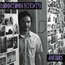 "Downtown Struts- Anchors 7"" (Purple Vinyl) (Sale price!)"