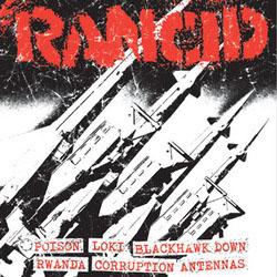 "Rancid- Poison / Loki / Blackhawk Down / Rwanda / Corruption / Antennas 7"" (Sale price!)"