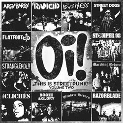 V/A- Oi! This Is Streetpunk Volume 2 LP (Color Vinyl)
