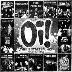 V/A- Oi! This Is Streetpunk Volume 3 LP (With Free Oi! Pin!)