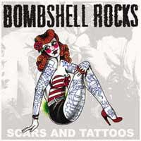 "Bombshell Rocks- Scars And Tattoos 7"" (Orange Vinyl) (Sale price!)"