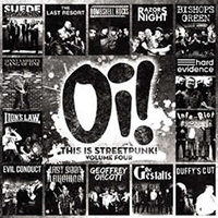 V/A- Oi! This Is Streetpunk Volume 4 LP (With Free Oi! Pin!)