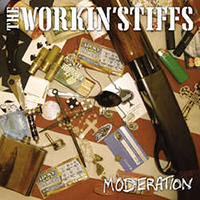 "Workin' Stiffs- Moderation 7"" (Olive Vinyl) (Sale price!)"