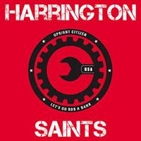"""Harrington Saints- Upright Citizen 7"""" (Grey Vinyl)"""