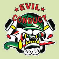 "Evil Conduct- That Old Tattoo 11"" Bulldog Shaped Vinyl"