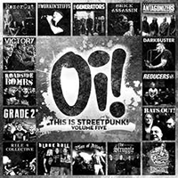 V/A- Oi! This Is Streetpunk Volume 5 LP (Color Vinyl, With Free Oi! Patch)