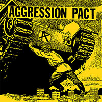"""Aggression Pact- S/T 7"""" (Sale price!)"""