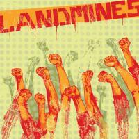 Landmines- S/T LP (Clear Orange Vinyl) (Sale price!)