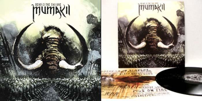 Mumakil- Behold The Failure LP (180 gram vinyl)