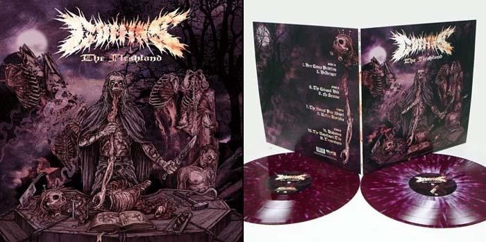 Coffins- The Fleshland 2xLP (Purple Vinyl)