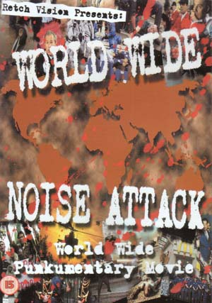 World Wide Noise Attack Punkumentary DVD (Defiance, Skeptix, Adolph & The Piss Artists, Blitzkrieg, more) (Sale price!)