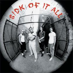 "Sick Of It All- S/T 7"""