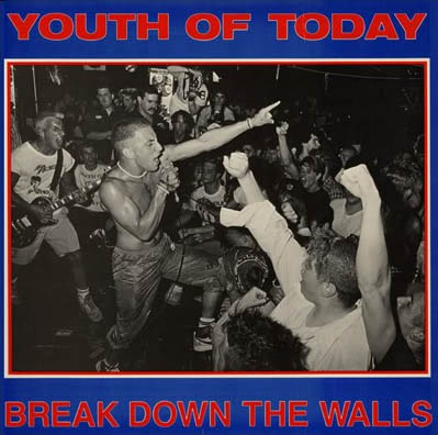 Youth Of Today- Break Down The Walls LP (Red Vinyl)