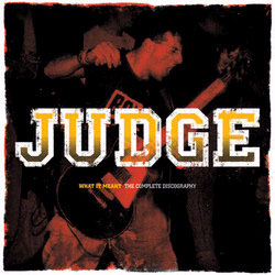 Judge- What It Meant, Complete Discography 2xLP (Translucent Blue Vinyl)