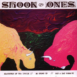 """Shook Ones- Slaughter Of The Insole 7"""" (Color Vinyl)"""
