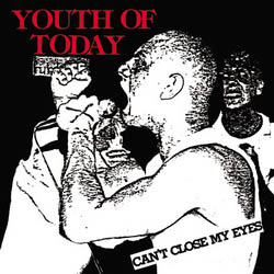 Youth Of Today- Can't Close My Eyes LP (Color Vinyl)